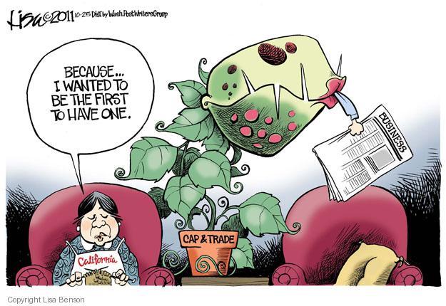 Cartoonist Lisa Benson  Lisa Benson's Editorial Cartoons 2011-10-25 cap