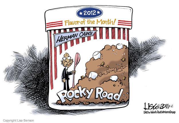 Lisa Benson  Lisa Benson's Editorial Cartoons 2011-11-02 road
