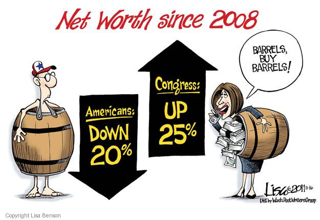 Cartoonist Lisa Benson  Lisa Benson's Editorial Cartoons 2011-11-16 recession