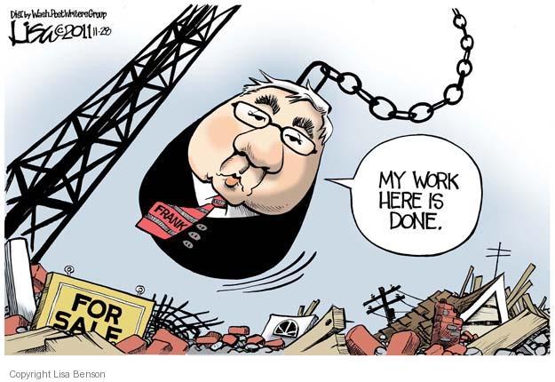 Cartoonist Lisa Benson  Lisa Benson's Editorial Cartoons 2011-11-28 House of Representatives