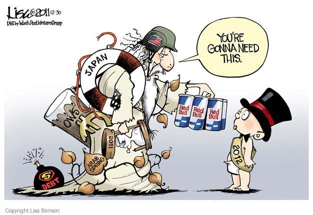 Lisa Benson  Lisa Benson's Editorial Cartoons 2011-12-30 2011