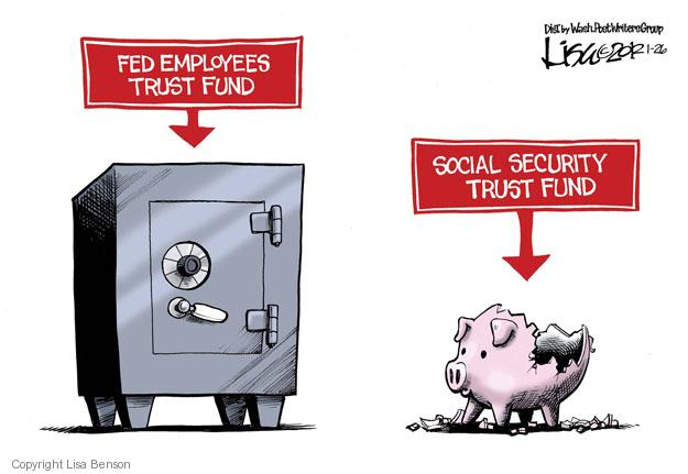 Cartoonist Lisa Benson  Lisa Benson's Editorial Cartoons 2012-01-26 security system