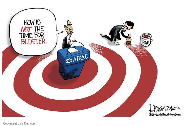 Lisa Benson  Lisa Benson's Editorial Cartoons 2012-03-06 Mahmoud Ahmadinejad