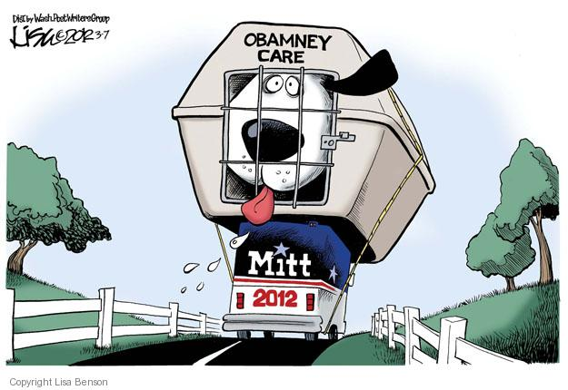 Obamney Care. Mitt 2012.