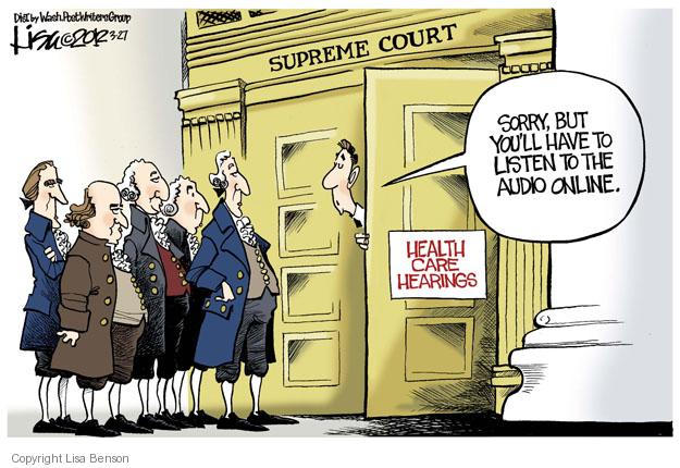 Cartoonist Lisa Benson  Lisa Benson's Editorial Cartoons 2012-03-27 justice system