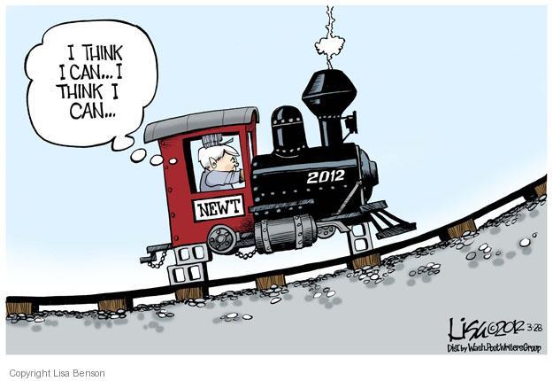 Cartoonist Lisa Benson  Lisa Benson's Editorial Cartoons 2012-03-28 Speaker of the House
