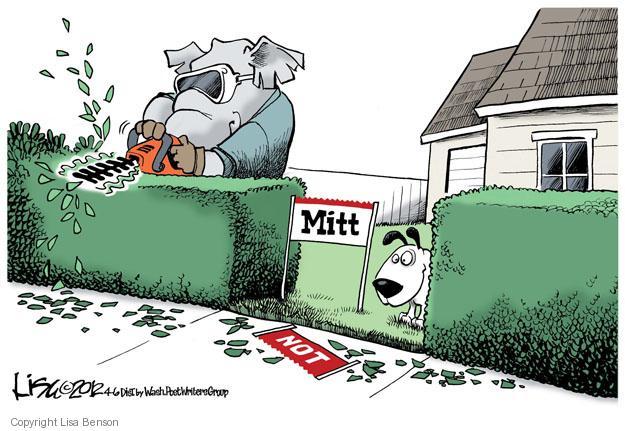 Lisa Benson  Lisa Benson's Editorial Cartoons 2012-04-06 GOP