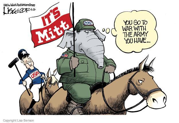 Cartoonist Lisa Benson  Lisa Benson's Editorial Cartoons 2012-04-26 gap
