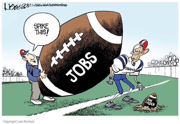 Cartoonist Lisa Benson  Lisa Benson's Editorial Cartoons 2012-05-04 unemployment