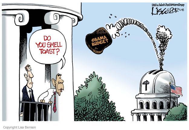 Lisa Benson  Lisa Benson's Editorial Cartoons 2012-05-18 federal budget