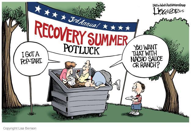 Cartoonist Lisa Benson  Lisa Benson's Editorial Cartoons 2012-06-05 recession