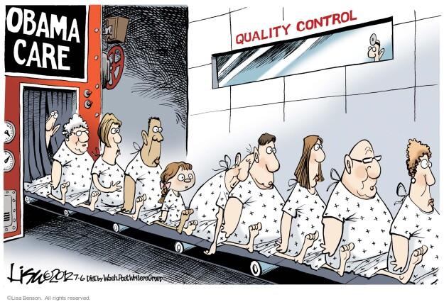 Lisa Benson  Lisa Benson's Editorial Cartoons 2012-07-06 Supreme Court