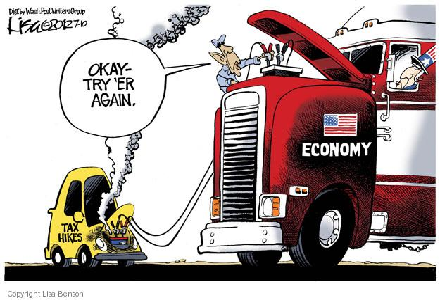 Cartoonist Lisa Benson  Lisa Benson's Editorial Cartoons 2012-07-10 recession