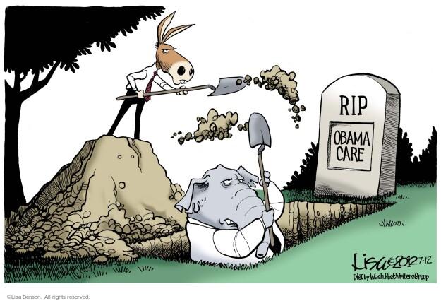 Lisa Benson  Lisa Benson's Editorial Cartoons 2012-07-12 GOP