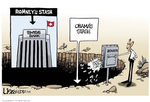 Lisa Benson  Lisa Benson's Editorial Cartoons 2012-07-13 GOP