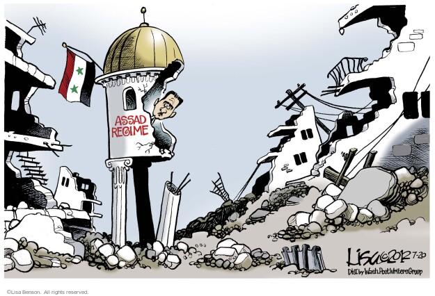 Cartoonist Lisa Benson  Lisa Benson's Editorial Cartoons 2012-07-20 violent