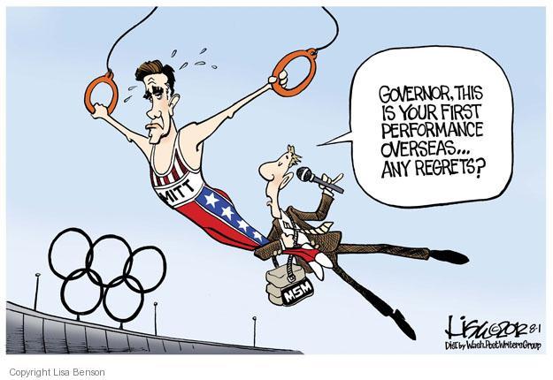Lisa Benson  Lisa Benson's Editorial Cartoons 2012-08-01 2012 Olympics