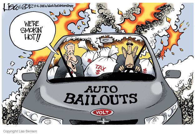 Lisa Benson  Lisa Benson's Editorial Cartoons 2012-08-16 automobile
