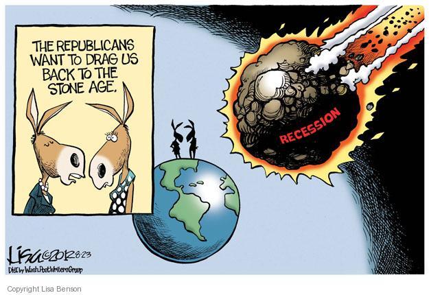 Cartoonist Lisa Benson  Lisa Benson's Editorial Cartoons 2012-08-23 recession