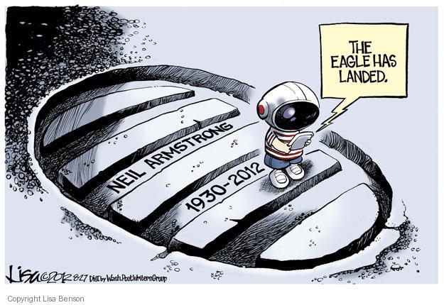 Cartoonist Lisa Benson  Lisa Benson's Editorial Cartoons 2012-08-27 NASA
