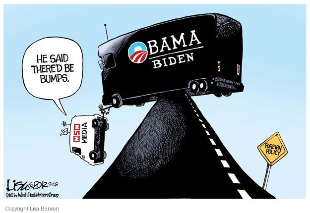 Cartoonist Lisa Benson  Lisa Benson's Editorial Cartoons 2012-09-28 president