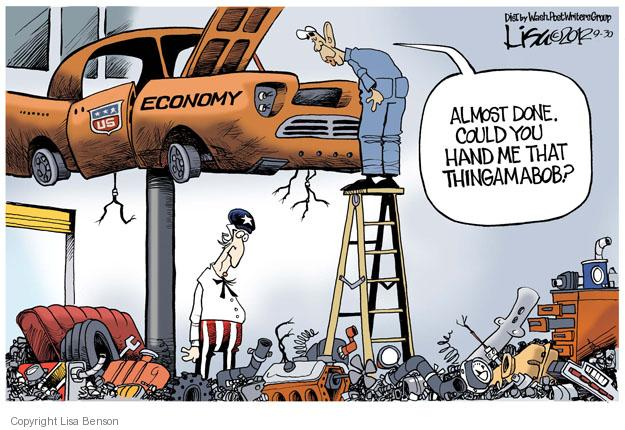 Cartoonist Lisa Benson  Lisa Benson's Editorial Cartoons 2012-09-30 recession