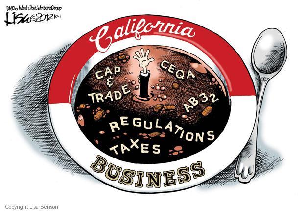 Cartoonist Lisa Benson  Lisa Benson's Editorial Cartoons 2012-10-01 environmental