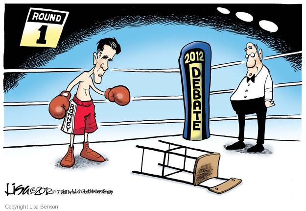 Cartoonist Lisa Benson  Lisa Benson's Editorial Cartoons 2012-10-07 president