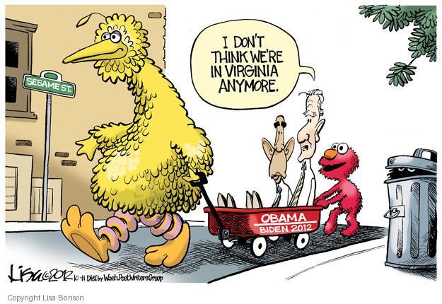 Cartoonist Lisa Benson  Lisa Benson's Editorial Cartoons 2012-10-11 president