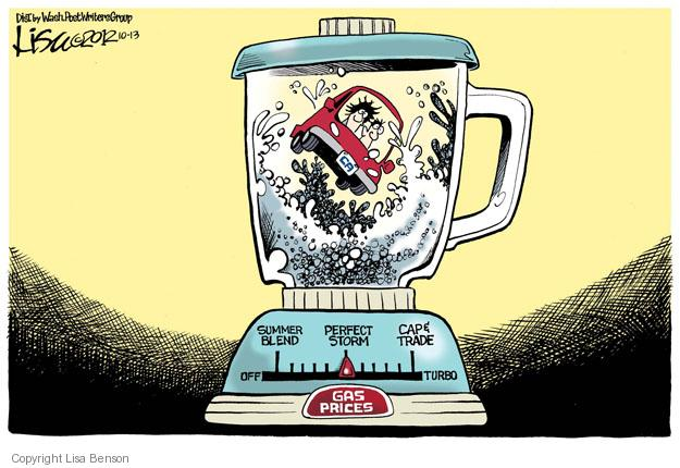 Cartoonist Lisa Benson  Lisa Benson's Editorial Cartoons 2012-10-13 cap and trade