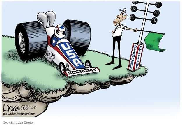 Cartoonist Lisa Benson  Lisa Benson's Editorial Cartoons 2012-10-19 president