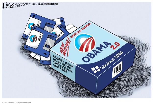 Cartoonist Lisa Benson  Lisa Benson's Editorial Cartoons 2012-10-25 president