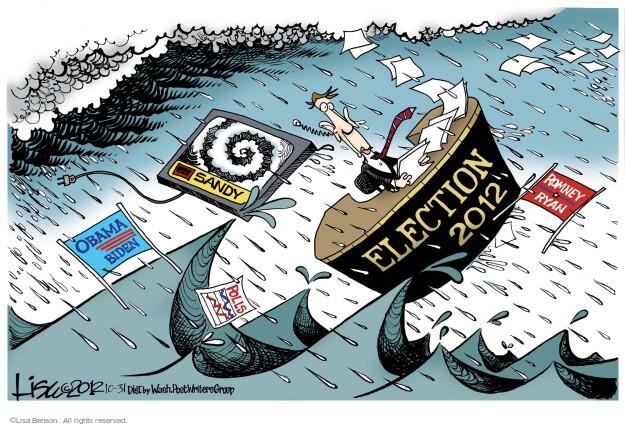 Lisa Benson  Lisa Benson's Editorial Cartoons 2012-10-31 2012 election
