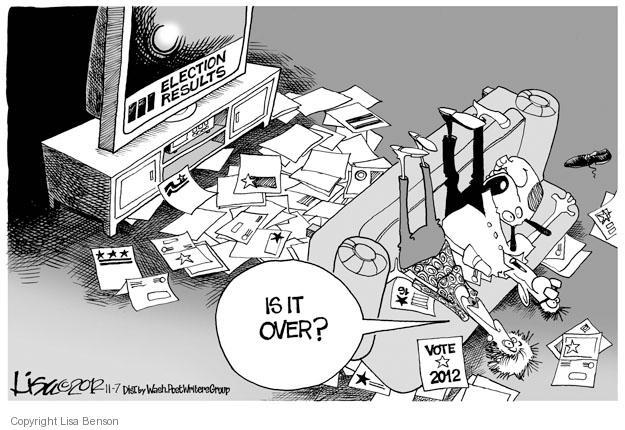 Lisa Benson  Lisa Benson's Editorial Cartoons 2012-11-07 2012 election
