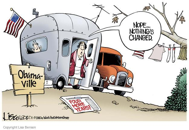 Obamaville. Nope … nothings changed. Four more years!