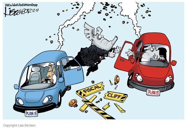 Lisa Benson  Lisa Benson's Editorial Cartoons 2012-12-19 republican politician