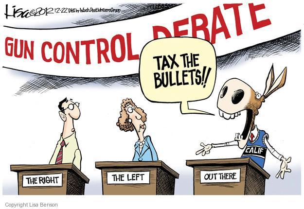 Cartoonist Lisa Benson  Lisa Benson's Editorial Cartoons 2012-12-22 bullet