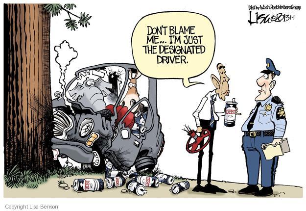 Lisa Benson  Lisa Benson's Editorial Cartoons 2013-01-01 republican politician