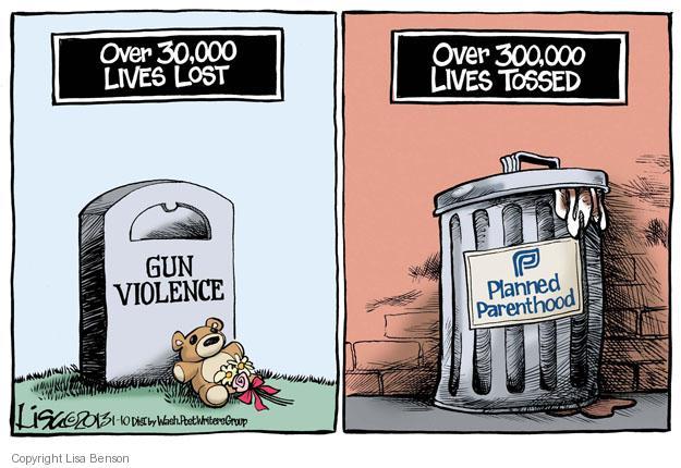 Cartoonist Lisa Benson  Lisa Benson's Editorial Cartoons 2013-01-10 violence