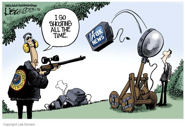 Cartoonist Lisa Benson  Lisa Benson's Editorial Cartoons 2013-01-30 violence