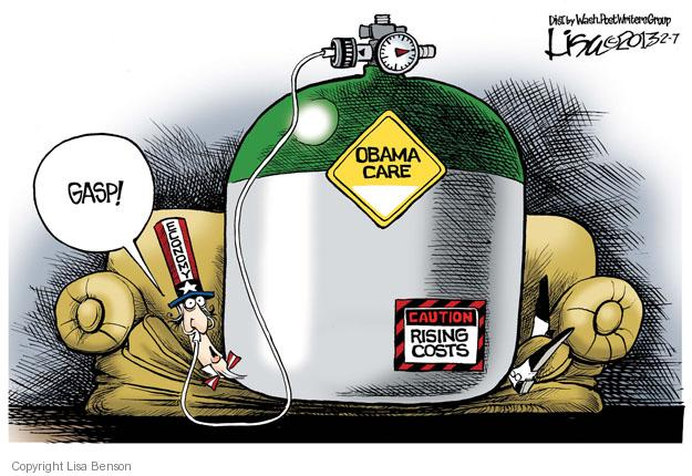 Cartoonist Lisa Benson  Lisa Benson's Editorial Cartoons 2013-02-07 president