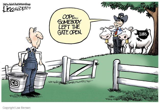 Cartoonist Lisa Benson  Lisa Benson's Editorial Cartoons 2013-02-09 unemployment