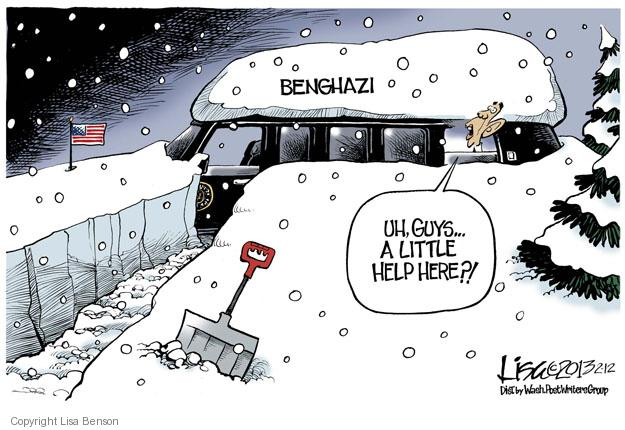 Cartoonist Lisa Benson  Lisa Benson's Editorial Cartoons 2013-02-12 president