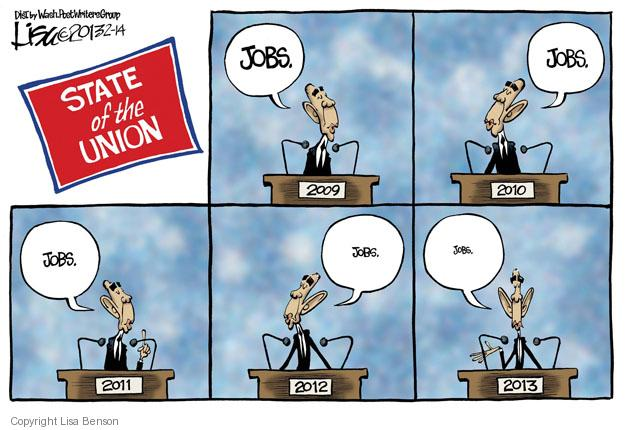 Cartoonist Lisa Benson  Lisa Benson's Editorial Cartoons 2013-02-14 president