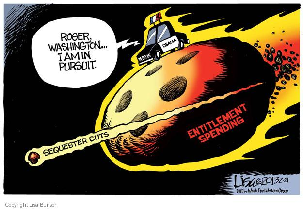 Lisa Benson  Lisa Benson's Editorial Cartoons 2013-02-21 federal budget