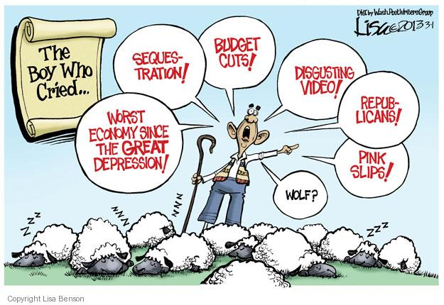 Cartoonist Lisa Benson  Lisa Benson's Editorial Cartoons 2013-03-01 president