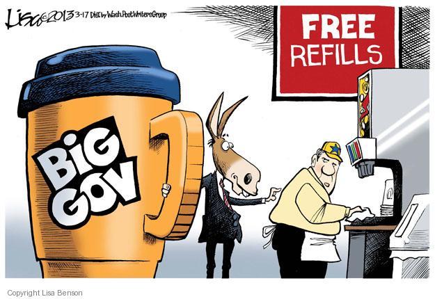 Cartoonist Lisa Benson  Lisa Benson's Editorial Cartoons 2013-03-17 big