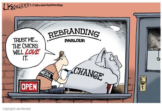 Lisa Benson  Lisa Benson's Editorial Cartoons 2013-03-21 republican politician