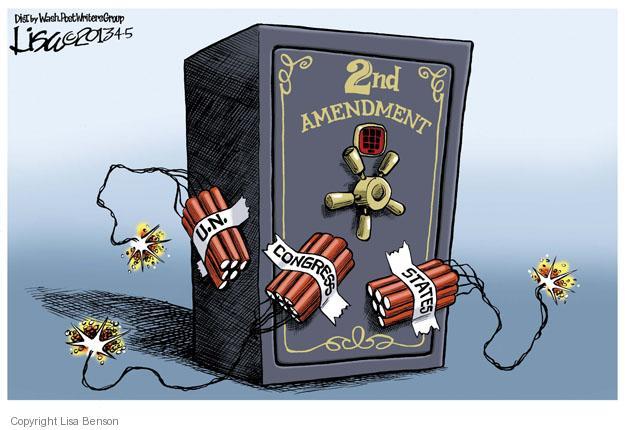 Cartoonist Lisa Benson  Lisa Benson's Editorial Cartoons 2013-04-05 Constitution