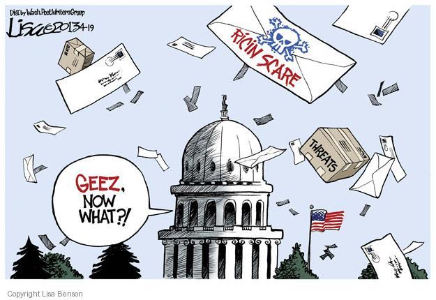 Lisa Benson  Lisa Benson's Editorial Cartoons 2013-04-19 danger
